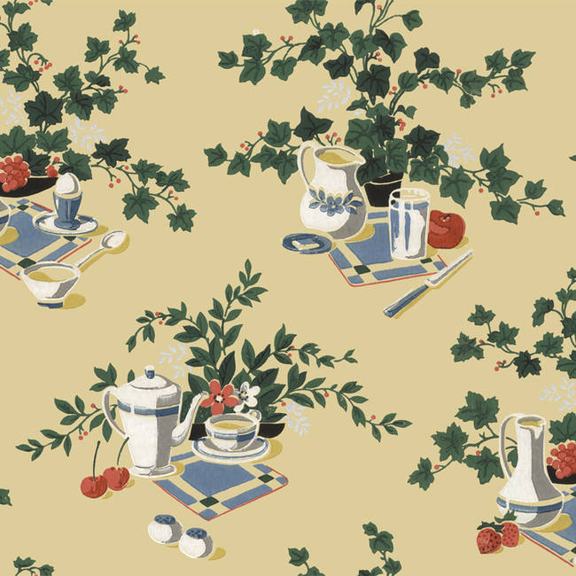 Kitchen Tea Background: DesignYourWall