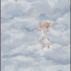 Clouds with baby angels wallpaper: pr3963
