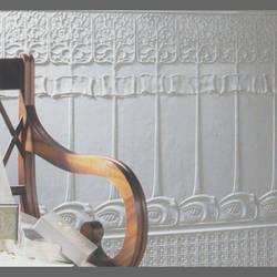 Art Nouveau Lincrusta Dado Paneling