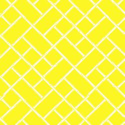 Bamboo custom vintage modern wallpaper: yellow