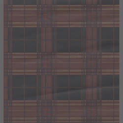 Traditional plaid wallcovering: 543521