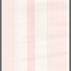 Striped Pink and White Wallpaper