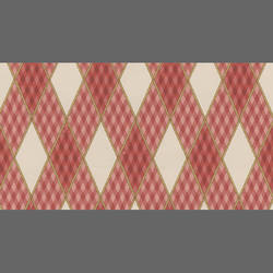 Traditional Plaid Harlequin Wallpaper: 521515