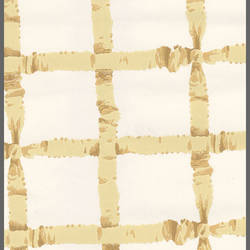 Traditional gold ribbon crossed wallpaper: CP5091