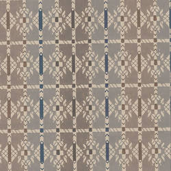 Early Americana brown and grey ethnic wallpaper: 520571
