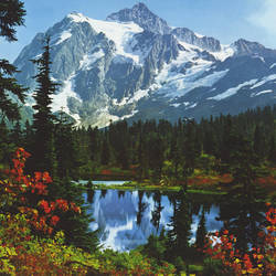 Mountain Morning Lake