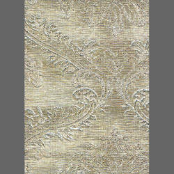 Champagne embossed damask metallic wallcovering: weLL223