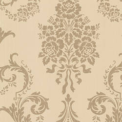 Chambers Gold Floral Damask 495-69000