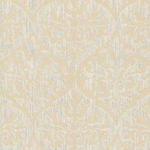 Sumatra Gold Ikat Damask Wallpaper 2542-20700