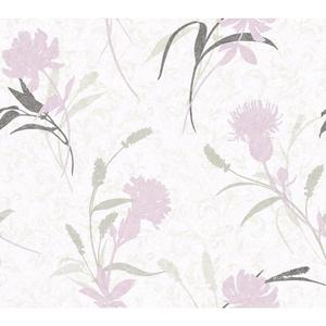 Open Floral Wallpaper WB5400