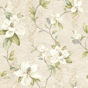 Charlotte Magnolia Trail Wallpaper TB4201